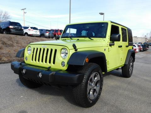 Used 2017 Jeep Wrangler For Sale In North Carolina