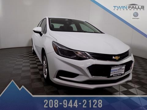 2016 Chevrolet Cruze for sale in Twin Falls, ID