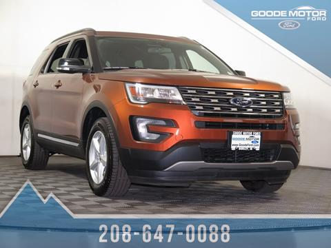 2017 Ford Explorer for sale in Twin Falls, ID