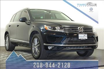 2016 Volkswagen Touareg for sale in Twin Falls, ID