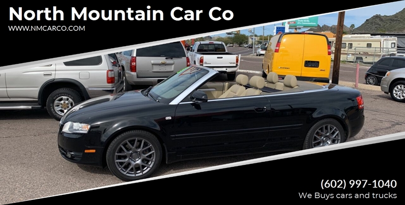 2007 Audi A4 20t 2dr Convertible 2l I4 Cvt In Phoenix Az North