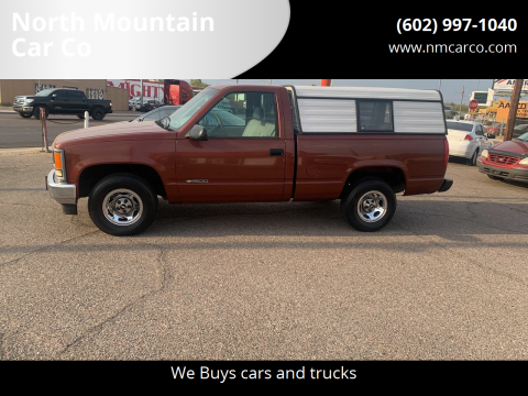 1998 Chevrolet C/K 1500 Series for sale at North Mountain Car Co in Phoenix AZ