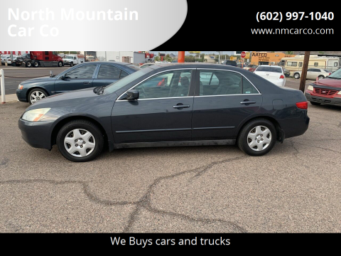 2005 Honda Accord for sale at North Mountain Car Co in Phoenix AZ