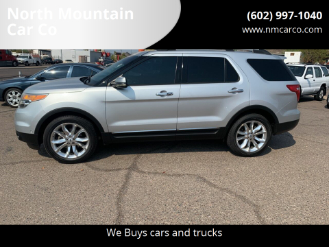 2013 Ford Explorer for sale at North Mountain Car Co in Phoenix AZ
