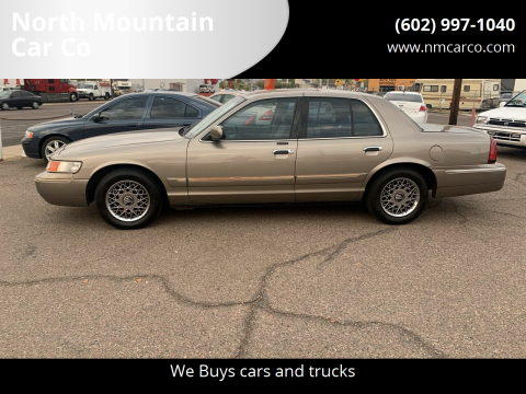 2001 Mercury Grand Marquis for sale at North Mountain Car Co in Phoenix AZ