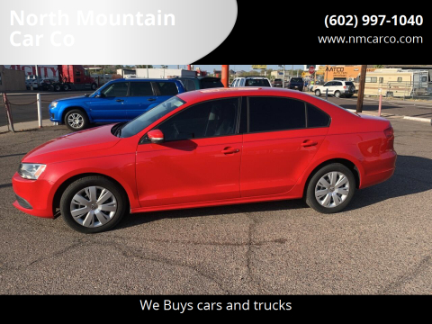 2012 Volkswagen Jetta for sale at North Mountain Car Co in Phoenix AZ