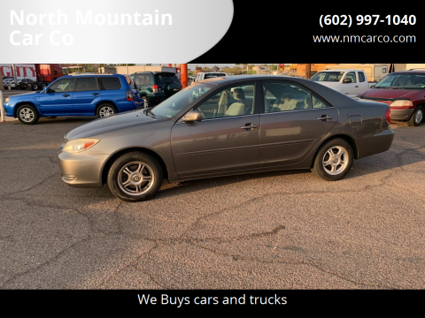 2003 Toyota Camry for sale at North Mountain Car Co in Phoenix AZ