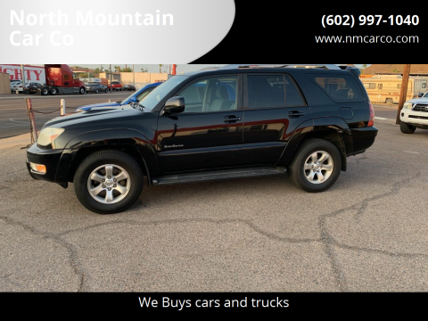 2005 Toyota 4Runner for sale at North Mountain Car Co in Phoenix AZ
