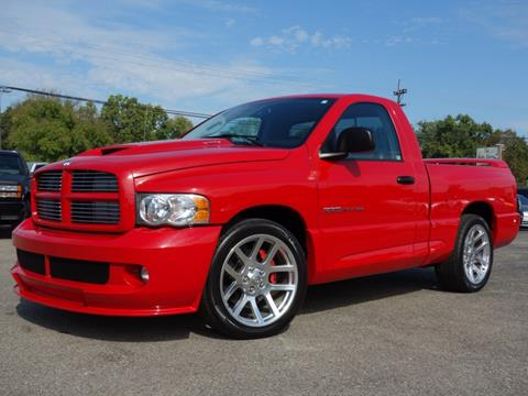 Dodge Ram Srt10 For Sale >> Used Dodge Ram Pickup 1500 Srt 10 For Sale In Cincinnati Oh