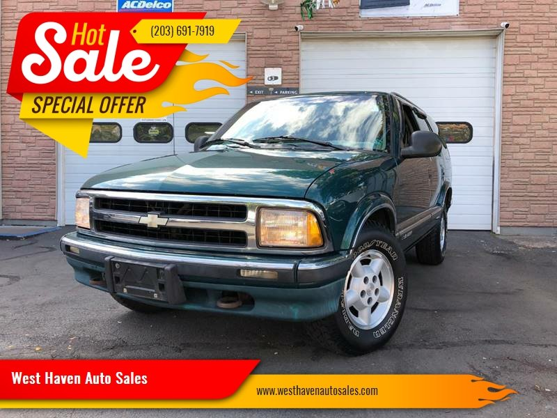 1996 Chevrolet Blazer 4dr Ls 4wd Suv In West Haven Ct West Haven