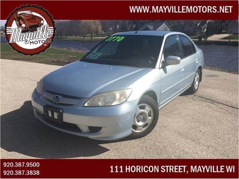 2004 Honda Civic Hybrid 4dr Sedan   Mayville WI