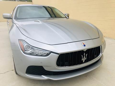 2015 Maserati Ghibli for sale at Auto Zoom 916 in Rancho Cordova CA