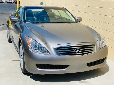 2009 Infiniti G37 Convertible for sale at Auto Zoom 916 in Rancho Cordova CA