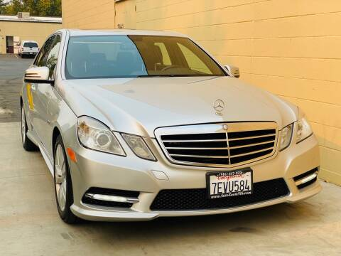 2012 Mercedes-Benz E-Class for sale at Auto Zoom 916 in Rancho Cordova CA