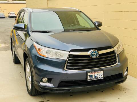 2015 Toyota Highlander Hybrid for sale at Auto Zoom 916 in Rancho Cordova CA