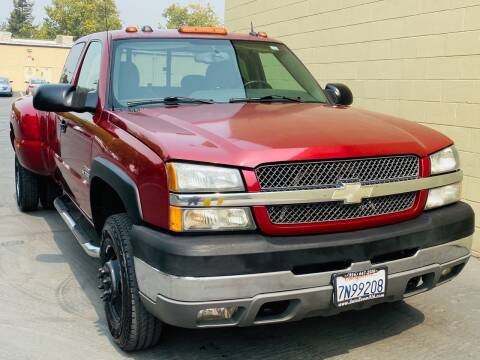 2004 Chevrolet Silverado 3500 for sale at Auto Zoom 916 in Rancho Cordova CA