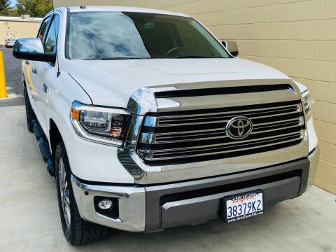 2018 Toyota Tundra for sale at Auto Zoom 916 in Rancho Cordova CA