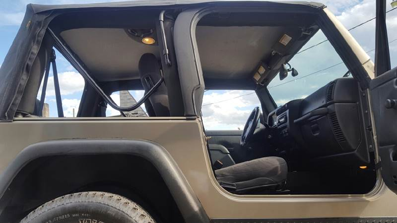2003 Jeep Wrangler for sale at TAMSON MOTORS in Stoughton MA