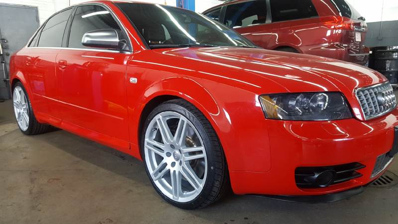 2004 Audi S4 for sale at TAMSON MOTORS in Stoughton MA