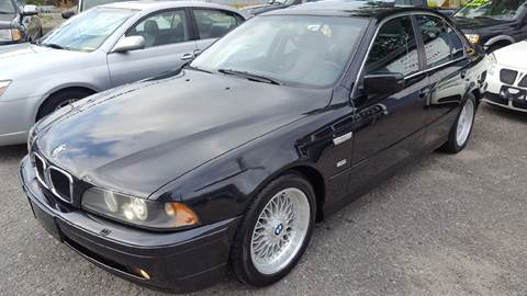 2002 BMW 5 Series for sale at TAMSON MOTORS in Stoughton MA