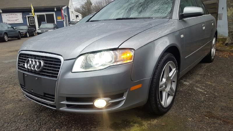 2007 Audi A4 for sale at TAMSON MOTORS in Stoughton MA