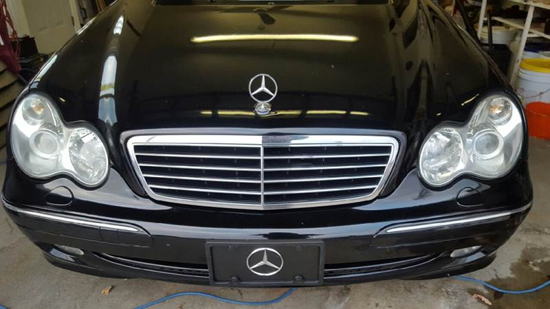 2004 Mercedes-Benz C-Class for sale at TAMSON MOTORS in Stoughton MA