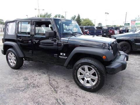 2007 Jeep Wrangler Unlimited for sale in Saint John, IN