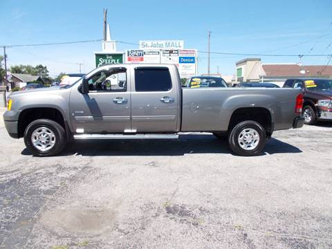 2009 GMC Sierra 2500HD for sale in Saint John, IN