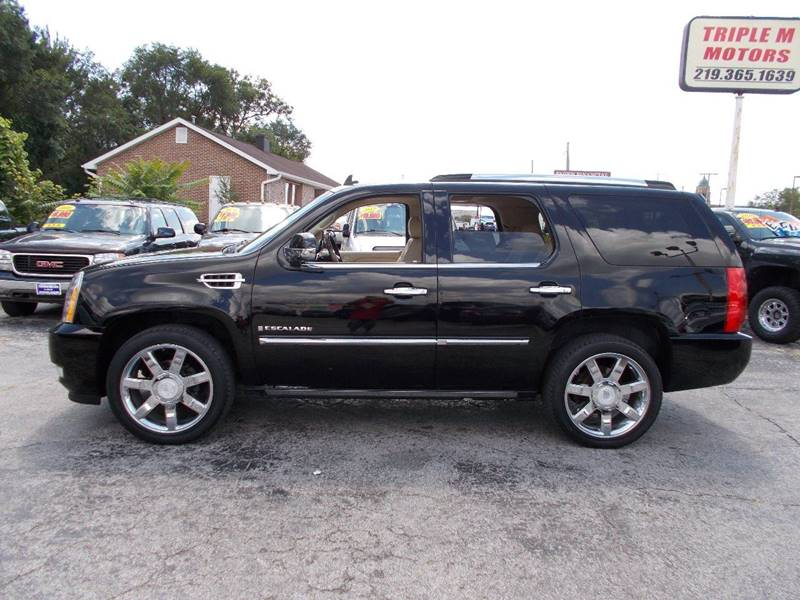 escalade the serving awd used at cadillac detail lot car internet