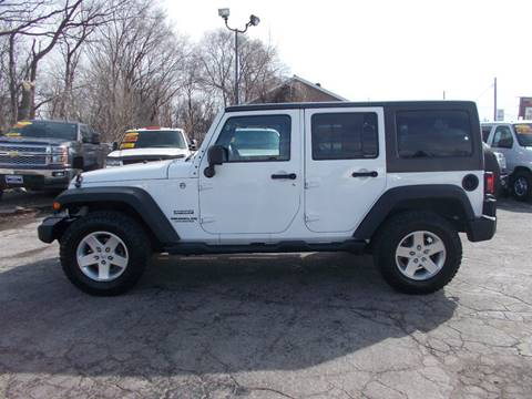 2013 Jeep Wrangler Unlimited for sale in Saint John, IN