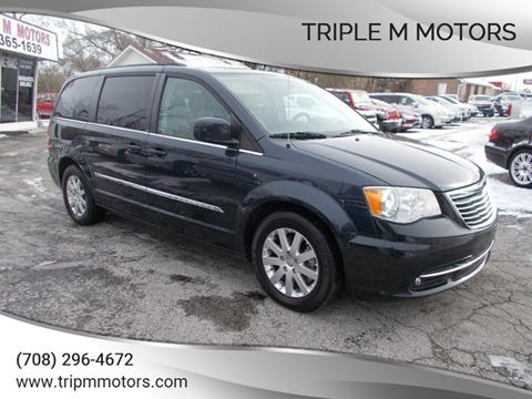 2013 Chrysler Town and Country for sale in Saint John, IN