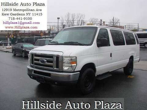 2008 Ford E-Series Wagon for sale at Hillside Auto Plaza in Kew Gardens NY