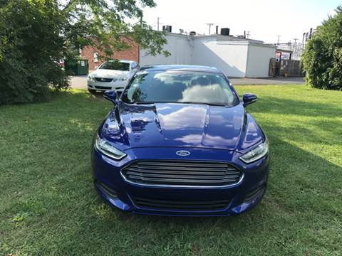 2015 Ford Fusion for sale in Louisville, KY