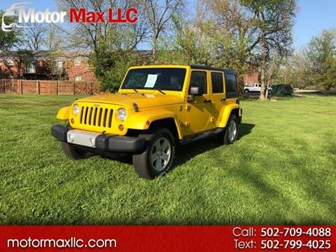 2011 Jeep Wrangler Unlimited for sale in Louisville, KY