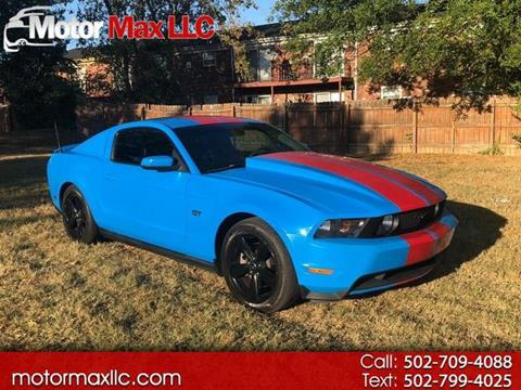 2010 Ford Mustang for sale in Louisville, KY