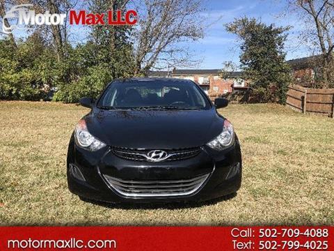 2013 Hyundai Elantra for sale in Louisville, KY