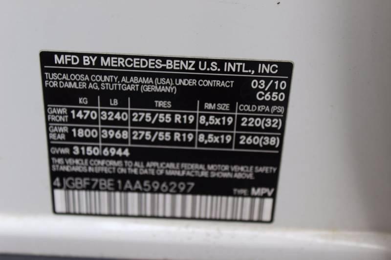 2010 Mercedes-Benz GL-Class AWD GL 450 4MATIC 4dr SUV - Sterling VA