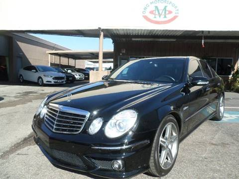 2007 mercedes benz e class for sale in houston tx. Black Bedroom Furniture Sets. Home Design Ideas