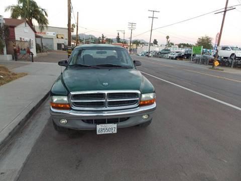 2001 Dodge Dakota for sale at ALSA Auto Sales in El Cajon CA