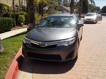 2014 Toyota Camry for sale in El Cajon, CA