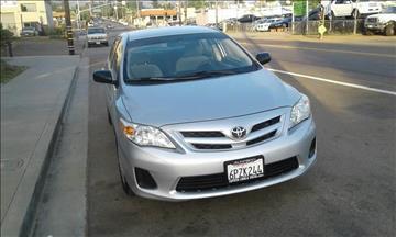 2011 Toyota Corolla for sale at ALSA Auto Sales in El Cajon CA