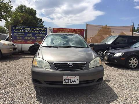 2007 Toyota Corolla for sale in El Cajon, CA