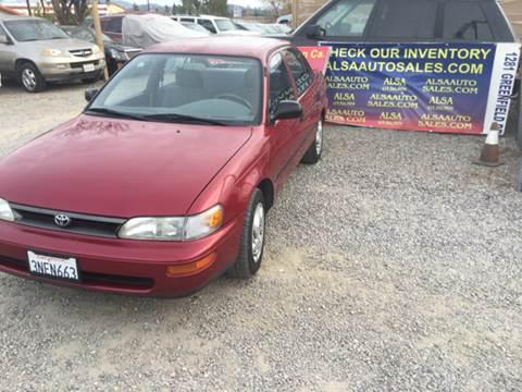 1995 Toyota Corolla for sale at ALSA Auto Sales in El Cajon CA