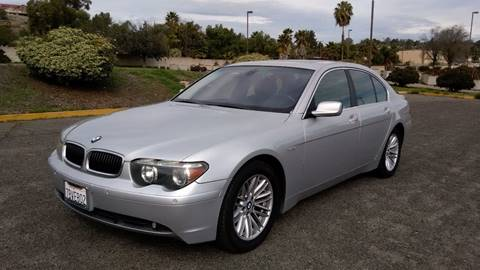 2004 BMW 7 Series for sale at ALSA Auto Sales in El Cajon CA