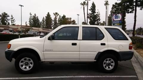 1998 Isuzu Rodeo for sale at ALSA Auto Sales in El Cajon CA