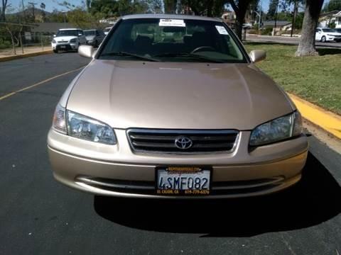 2001 Toyota Camry for sale at ALSA Auto Sales in El Cajon CA