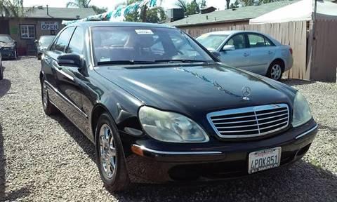 2001 Mercedes-Benz S-Class for sale at ALSA Auto Sales in El Cajon CA