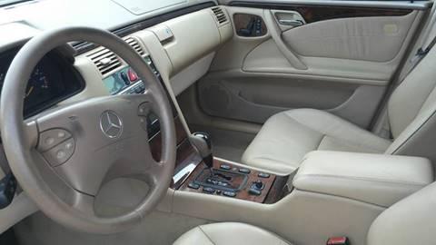 2001 Mercedes-Benz E-Class for sale at ALSA Auto Sales in El Cajon CA