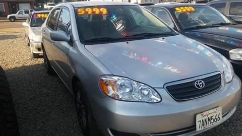 2008 Toyota Corolla for sale at ALSA Auto Sales in El Cajon CA
