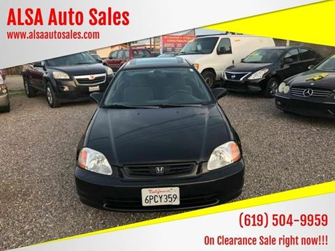 1996 Honda Civic for sale in El Cajon, CA
